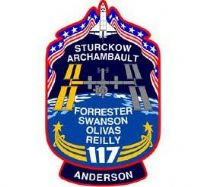 STS 117 Mission Decal